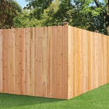 Unbranded 6 Ft X 8 Ft Cedar Dog Ear Fence Panel With 2x4 Rails 309783 The Home Depot