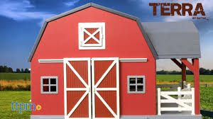 terra wooden barn from battat you