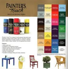 rustoleum spray paint color chart