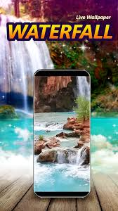 waterfall live wallpaper with sound for