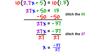 dealing with fractions decimals 5