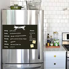 Meal Planner Chalkboard Decal Menu Decal Refrigerator Decal Planner Decal Only By Simple Shapes Amazon Com