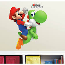 Room Mates Yoshi Mario Wall Decal Reviews Wayfair
