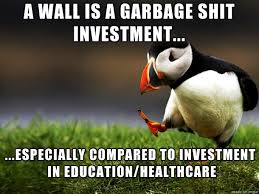 Let S Build A Wall The Politicians Are Corrupt And The Economy Is A House Of Cards But At Least We Have A Tall Spike Fence Meme On Imgur