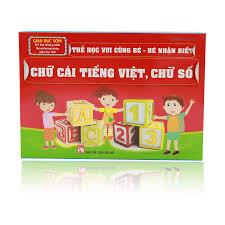 FlashCard - Bảng chữ cái tiếng việt và chữ số - Kidsplaza.vn