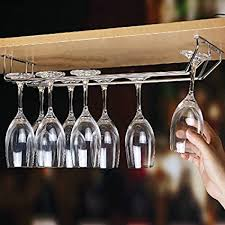 plantex wine glass rack holder upside