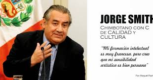 JORGE SMITH, Chimbotano con C de Calidad y Cultura. - Agenda Revista