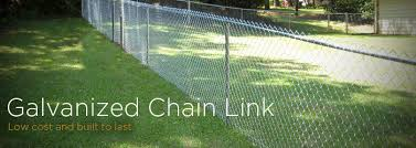 Residential Galvanized Chain Link Fence Workshop