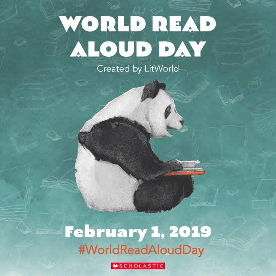 Image result for world read aloud day icon