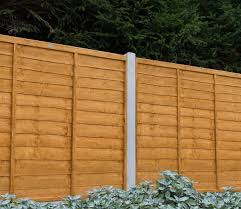 Forest Trade Lap 6 X 6 Ft Fence Panel Gardensite Co Uk