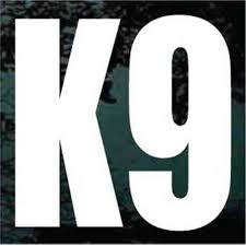 Police K9 Unit Decal Police K9 Unit Window Sticker
