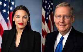 AOC Questions McConnell About Fancy Farm Photo Of Team Mitch Supporters |  WKMS