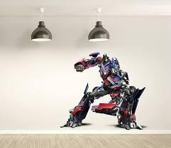 Optimus Prime Wall Decal Transformers Art Decor Optimus Etsy In 2020 Boston Print Wall Decals Transformers Art