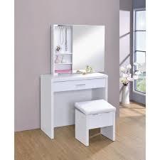 2 piece vanity set with mirror
