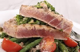 Grilled Mediterranean Ahi Tuna Recipe
