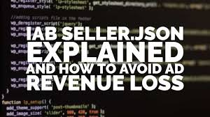 iab seller json explained and how to