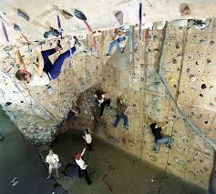 past climbing walls