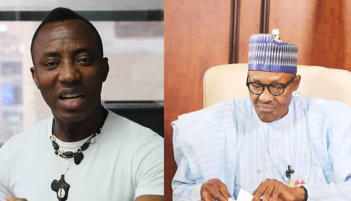 Image result for sowore and buhari""