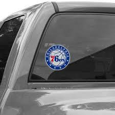 Philadelphia 76ers Car Decals 76ers Bumper Stickers Decals Fanatics