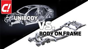 unibody vs body on frame c feature
