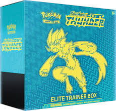 Pokemon Sun & Moon Lost Thunder Elite Trainer Box - Pokemon Sealed ...