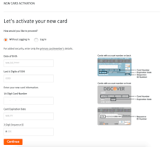 how to activate your credit card step