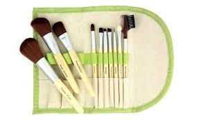 eco makeup brush set 10pc groupon goods