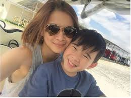 LOOK: LJ Reyes pens heartwarming message to son Aki for new year