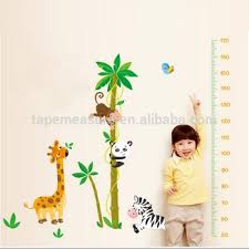 Children Growth Bedroom Colorful Wall Sticker Chart Height Measurement Kids Measuring Sticker Buy Height Measurement Kids Sticker Kids Height Sticker Product On Alibaba Com