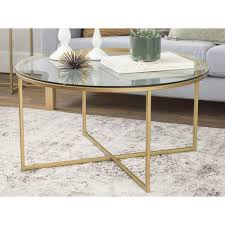 round glass coffee table canada