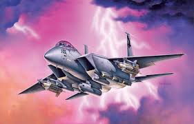 Italeri F 15 E Strike Eagle