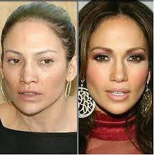 facts of the world stars without makeup