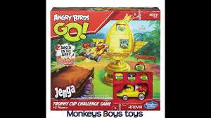 Angry Birds GO! Trophy Cup Challenge Jenga game - YouTube