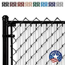 Ridged Slats Slat Depot Single Wall Bottom Locking Privacy Slat For 3 4 5 6 7 And 8 Chain Link Fence 4ft White On Galleon Philippines