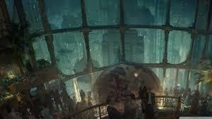 video game art retro science fiction