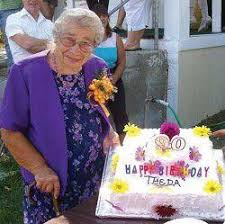 Theda's 90 years mostly good times | News | bluemountaineagle.com
