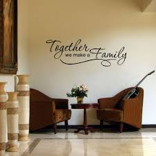 Find More Wall Stickers Information About Connoch Family Quote Wall Sticker Together We Ma Wall Decals Living Room Living Room Decals Wall Stickers Living Room