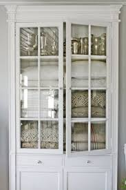 glass doors for linen storage