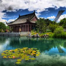 montreal botanical garden for nature