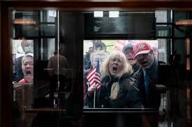 photo of Ohio quarantine protest ...
