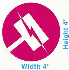 Team Jnpr Nora Valkyrie Emblem Rwby Truck Car Vinyl Decal Sticker Decalholics Ebay
