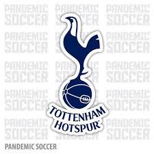 Tottenham Hotspur England Spurs Vinyl Sticker Decal Pandemic Soccer