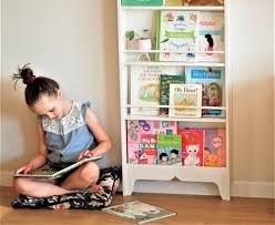 Montessori Wall Shallow Bookcase For Kids Self Serve Book Etsy