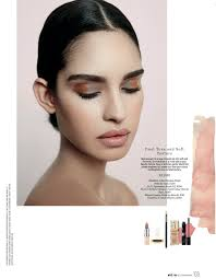 eye makeup tutorial from elle beauty shoot