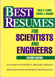 Best Resumes for Scientists and Engineers: Lewis, Adele, Moore, David J.:  9780471594529: Amazon.com: Books