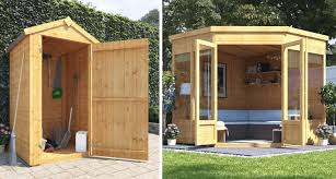 6 space saving garden buildings ideas