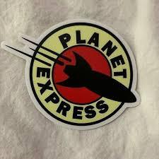 Planet Express Futurama Vinyl Weatherproof Sticker Decal Car Truck Laptop Window In 2020 Vinyl Sticker Car Bumper Decals Laptop Windows