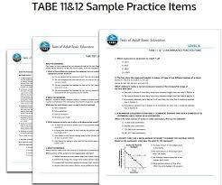 G. TABE 11&12 - Amparo's Classroom
