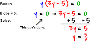 solving equations by factoring 6