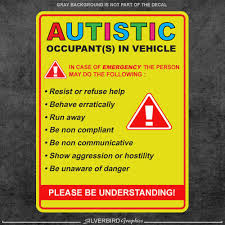 5 Pack Autism Awareness Window Decal For Sale Online Ebay